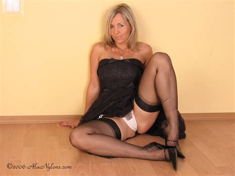 Ala Nylon From Poland Sexy Polish Milf