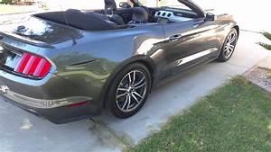 2016 Mustang convertible turbo rental - YouTube