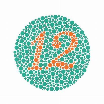 Test Blind Colour Eye Blindness Ishihara Plus