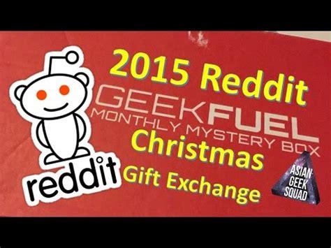 2015 reddit christmas gift exchange youtube