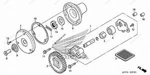 Honda Motorcycle 2006 Oem Parts Diagram For Oil Pump  2