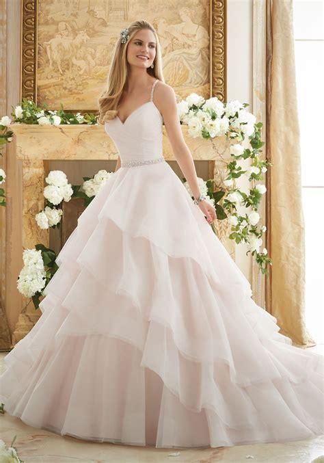 Elaborately Beaded Crystal Ball Gown Wedding Dress Style