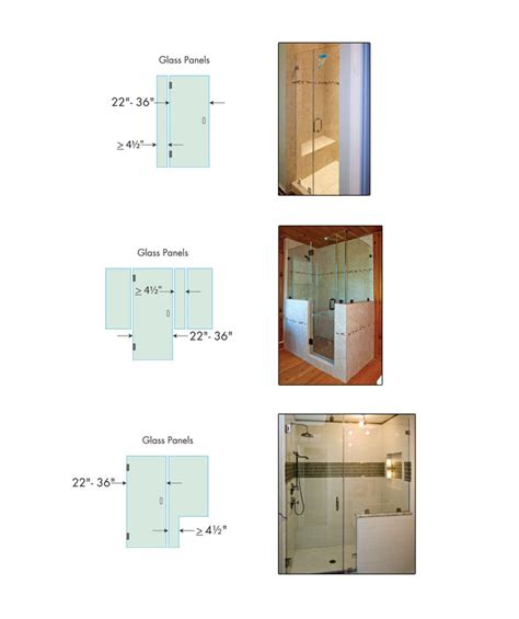 mirror for glass tips for planning your shower enclosure dulles glass