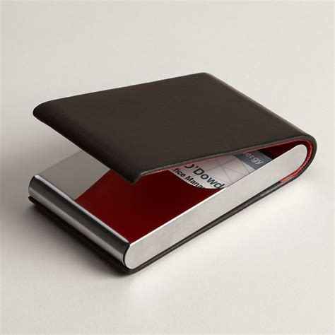 genuine leather business card holders leather card case