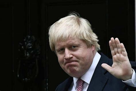 British ex-Foreign Minister Boris Johnson says supports ...