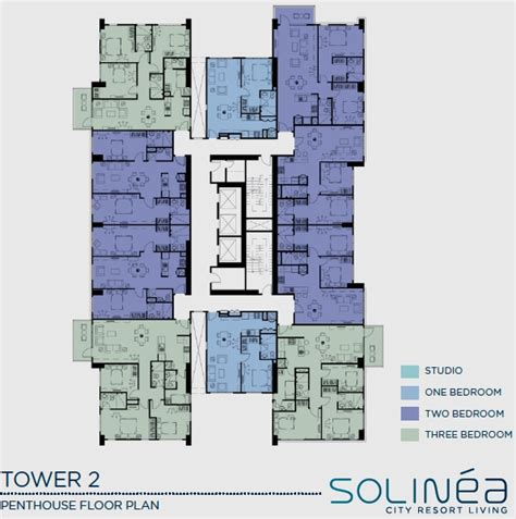 solinea tower  turquoise  city resort living condominium  sale  cebu city