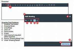 Documentation  Equation Editor Drawing Tool  Quick