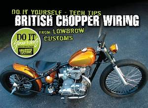 British Chopper Wiring