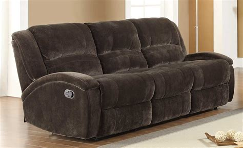 microfiber sectional recliner sofa homelegance alejandro reclining sofa set chocolate