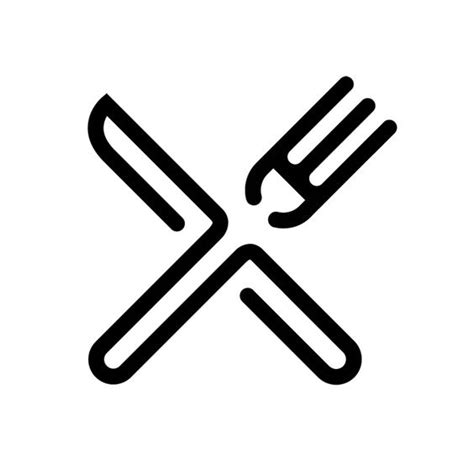 pictogramme cuisine pictogramme fourchettes and logos on