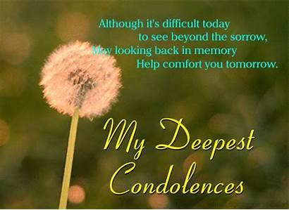 Card Condolence Sympathy Condolences Send Ecard Encouragement