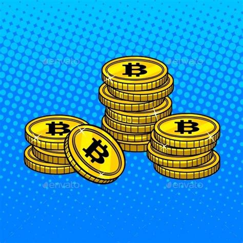 While cryptocurrencies like bitcoin are highly volatile. Bitcoin Money Pop Art Style Vector Illustration (с изображениями)