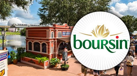 cuisine boursin boursin selected as an official sponsor of the epcot