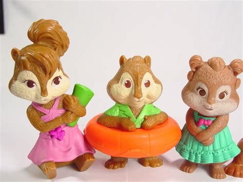 alvin and the chipmunks chipettes toys cake toppers action