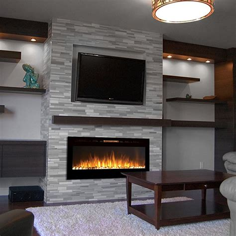 floating tv stand best top 10 best wall mounted electric fireplace reviews 2018