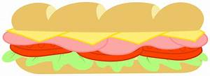 Sandwich Wrap Drawing | Clipart Panda - Free Clipart Images