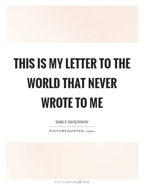 this is my letter to the world best of this is my letter to the world cover letter exles 53740
