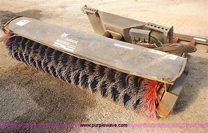 Bobcat Angle Broom Attachment
