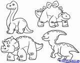 Coloring Dino Pages Dinosaur Drawings Popular sketch template
