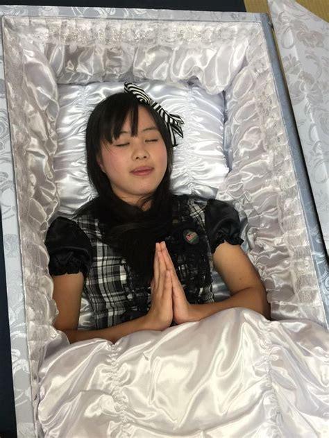 pin  derrick leong  women girls  coffins pinterest