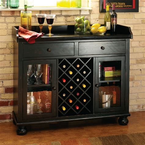 wine and liquor cabinet bar cabinet