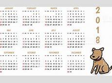 Cute 2018 Calendar free printable calendars 2018