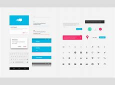 Android Lollipop Material Design UI kit for Sketch Infinum
