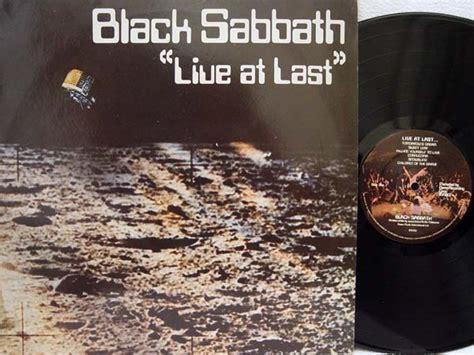 Album Live At Last By Black Sabbath On Cdandlp