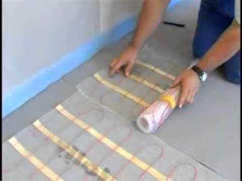 Jollytherm Elektr Fußbodenheizung Rapid Terraheatflv