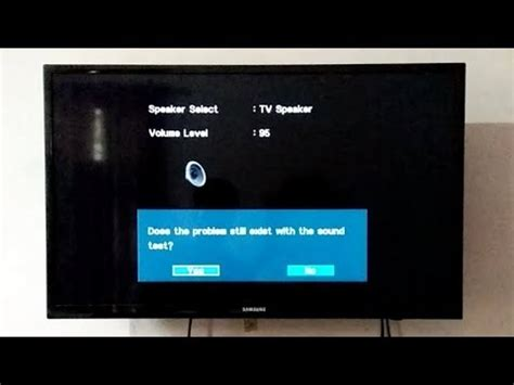 samsung tv test how to perform sound test on samsung led tv