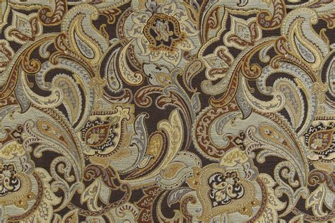 Paisley Uholstery Fabric-woven Synthetic