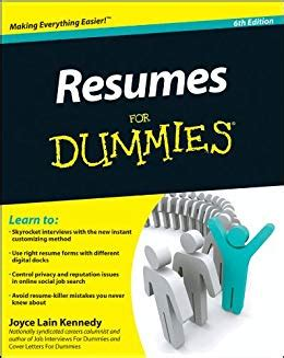 Resumes For Dummies by Resumes For Dummies Ebook Joyce Kennedy