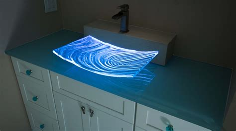 dazzling glass sinks  size color   bath
