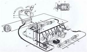 1980s Porsche Engine Diagram