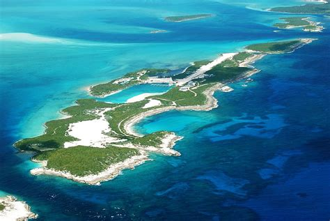 private islands  sale cave cay bahamas caribbean