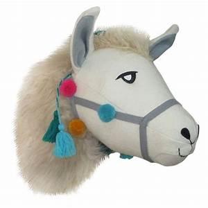 Llama head wall d?cor pillowfort target