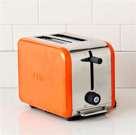 small kitchen appliances  orange color