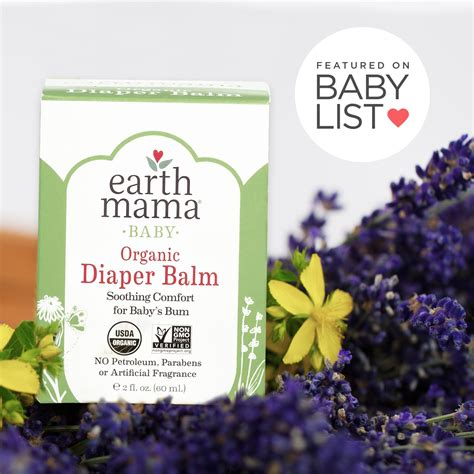 Earth Mama Angel Baby Earth Mama Bottom Balm 2 Oz Pack