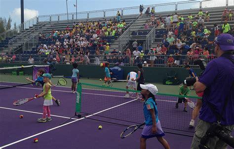 miami open south beach kick  week  kids day tennis  usta florida