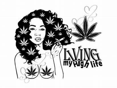 Weed Pot Jane Mary Blunt Svg Smoking
