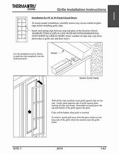 Grille Installation Instructions