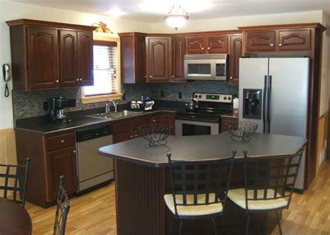 cocinas color chocolate  como organizar la casa