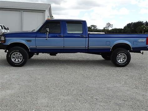 Buy Used 1996 Ford F350 Crew Cab Xlt Diesel 4x4 In Fort