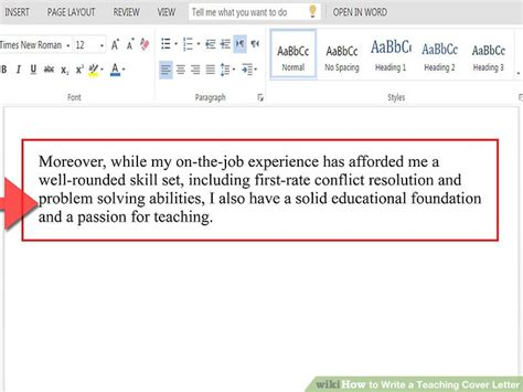 how to write a cover letter for year 10 work experience