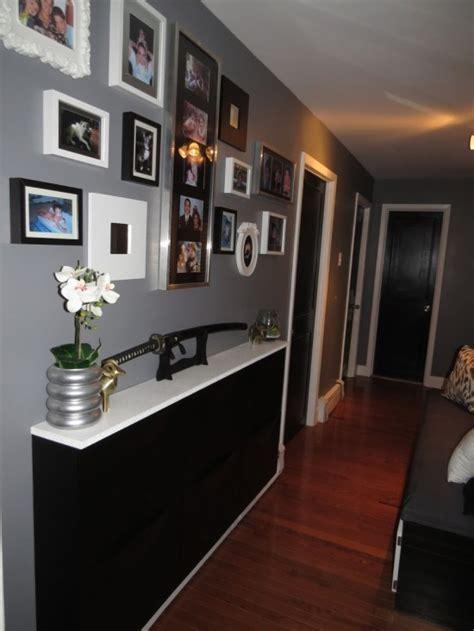 meuble de rangement cuisine meuble à chaussures ikea trones transformé en un meuble d