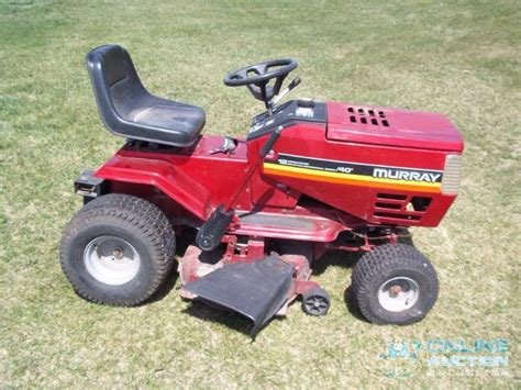 murray lawn mower advanced sales consignment auction 110 k bid