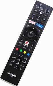 Genuine Humax RM-L08 Remote For FVP-4000T FVP-5000T ...