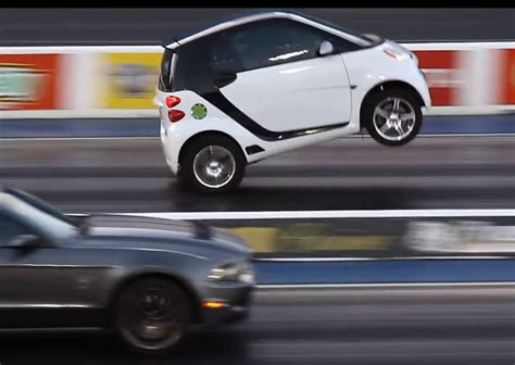 smart fortwo  toyota engine conversion  wheelies