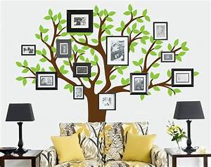 beautiful family tree wall decal ideas home designing With family tree decals for walls ideas