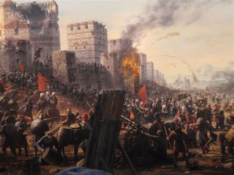 Ottomans Capture Constantinople by The Fall Of Constantinople O Mouggos